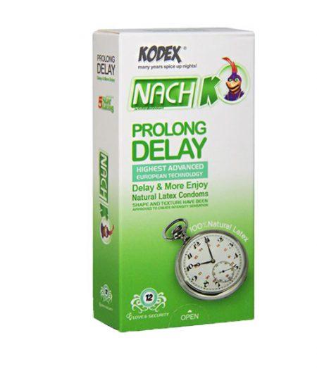 کاندوم تاخیری کدکس مدل Prolong Delay بسته 12 عددی