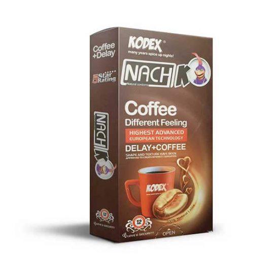 کاندوم کدکس مدل Coffee بسته 12 عددی